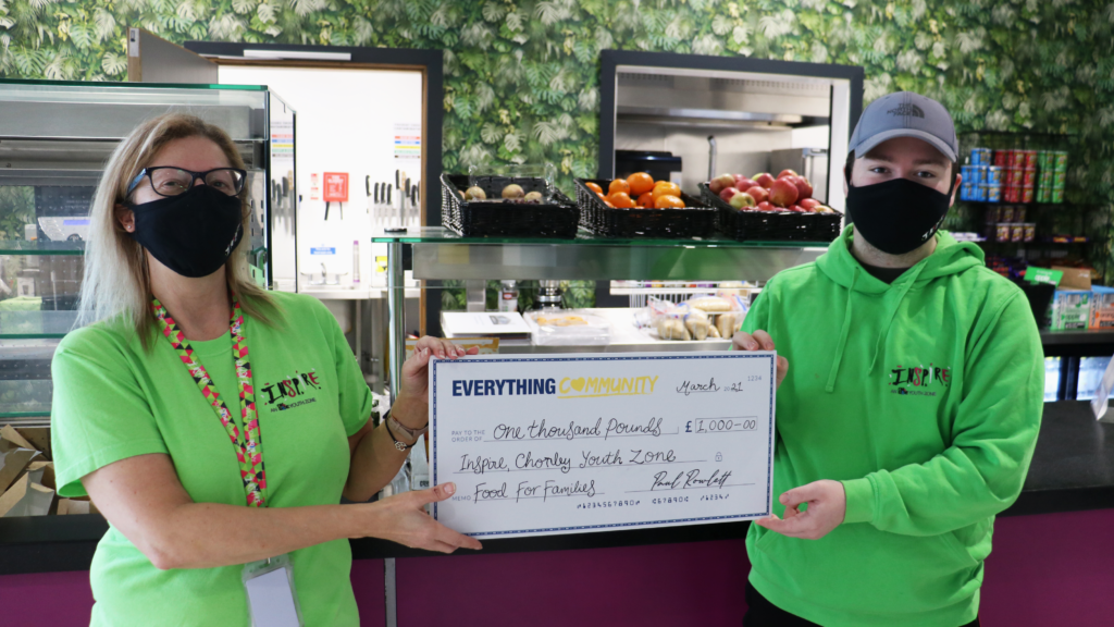EverythingBranded Supports Inspire Youth Zone