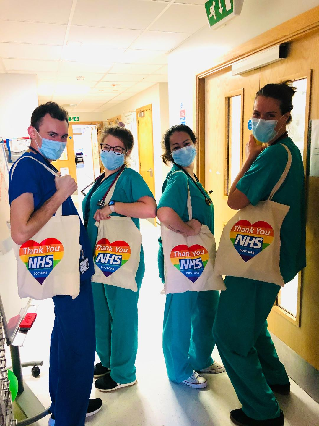 EverythingBranded Donates to St. George's Hospital Junior Doctors