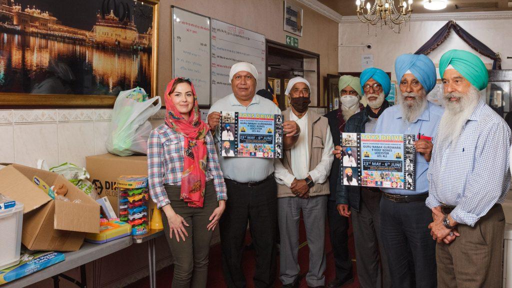 EverythingBranded Donates with Guru Kanak Gurdwara