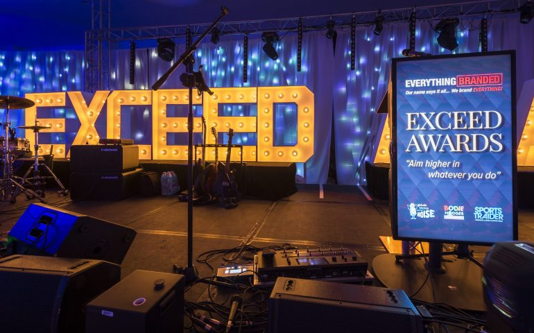 Exceed Awards 2018 donated all of its proceeds to its three big charities.