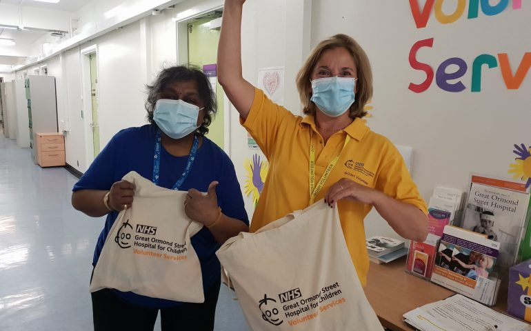 EverythingBranded Donates to Great Ormond Street Hospital Volunteers