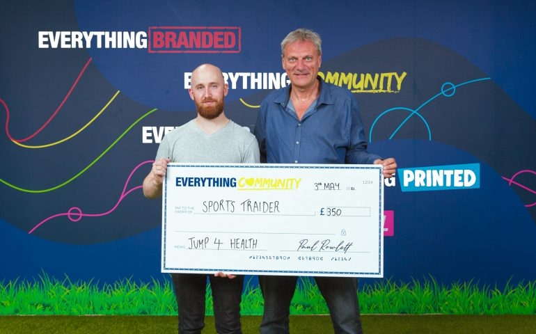 EverythingBranded Donates to SportsTraider