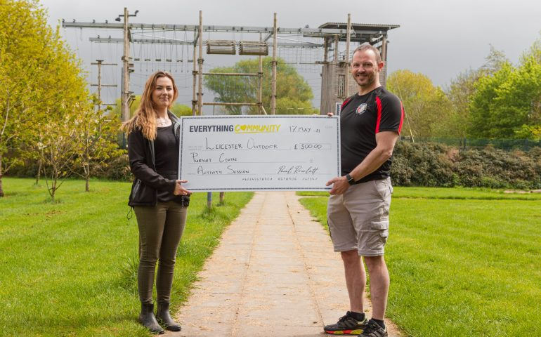 EverythingBranded Donates to Leicester Outdoor Pursuit Centre