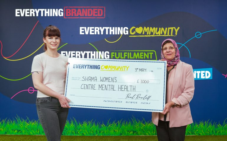 EverythingBranded Donates to Shama Womens Centre